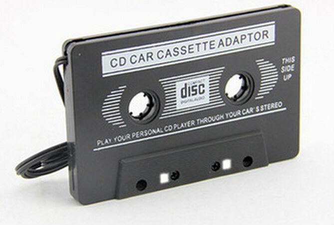 acheter noir blanc portable adaptateur de cassette lecteur mp3 pour les voitures. Black Bedroom Furniture Sets. Home Design Ideas