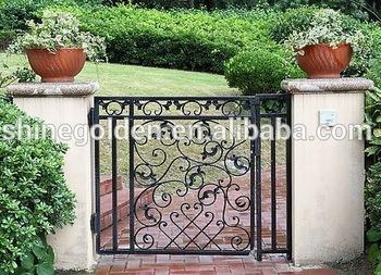 Wrought Iron Small Garden Gate Designs