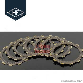 HF Brand Rubber Paper Based Manufacturer LTZ400 DRZ400 Motorcycle Friction Clutch Plate
