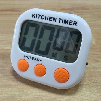Decorative Small Digital Kitchen Countdown Timer Food Bbq Household ...