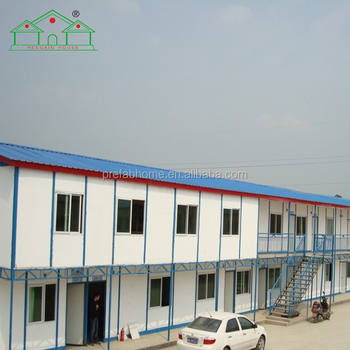Construction site house prefabricated steel building