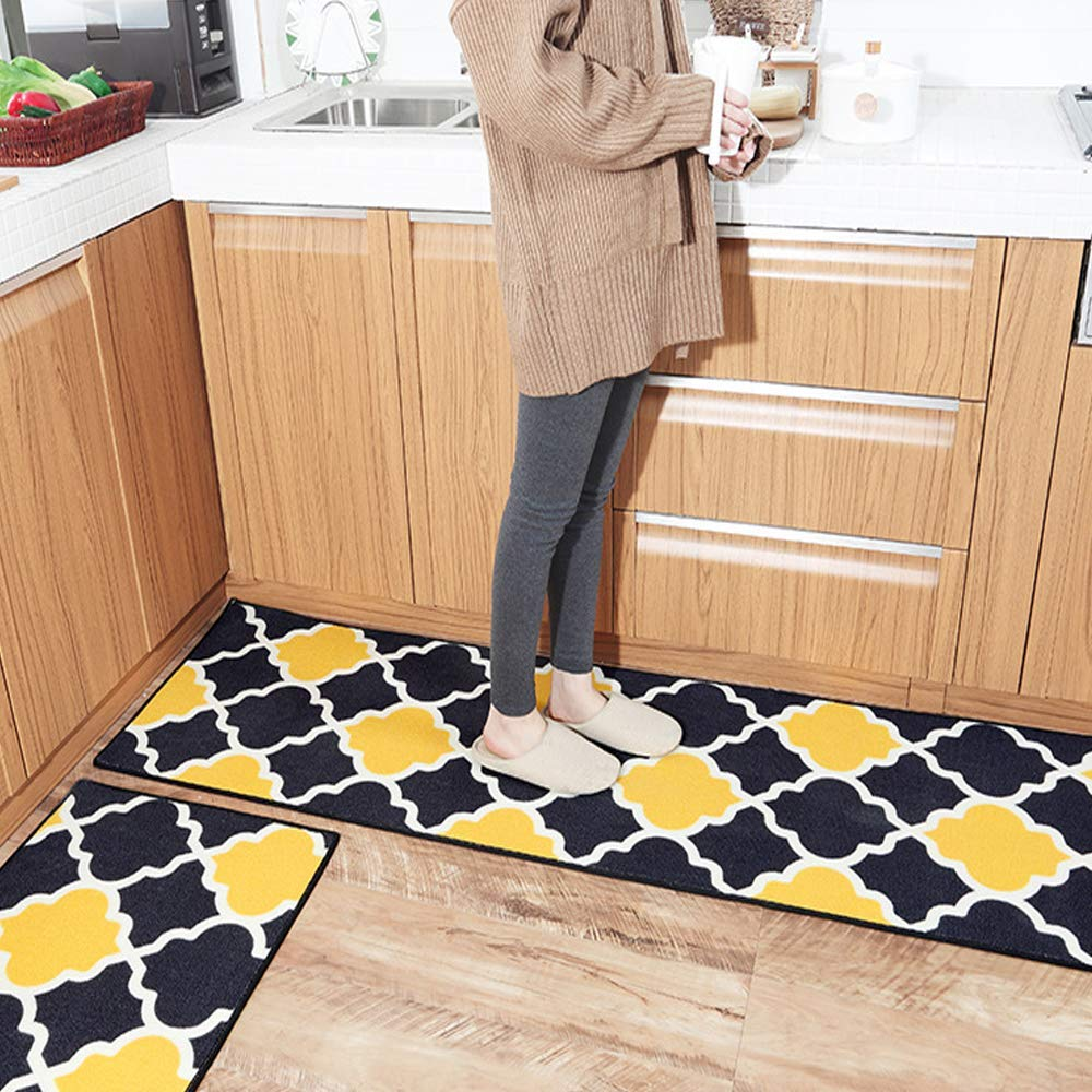 Buy Hebe Kitchen Rugs Set 2 Piece Non Slip Kitchen Rugs