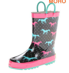 latest promotion price canada for boys high quality kids rubber fashion girls rain flower printed cute children wellies boots