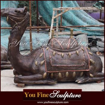 Outdoor Large Bronze Camel Statue For Sale