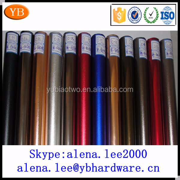 OEM ODM anodized 10mm 100mm large diameter aluminum pipe ISO9001/TS16949 passed