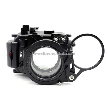 67mm Wet-Lens Swing Diopter Flip Adaptor For Meikon G7X housing