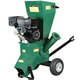 CE petrol engine Garden wast wood chipper shredder made in china factory