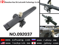 High quality locksmith auto anti-theft door lock 3 hook anti-theft car steering wheel lock