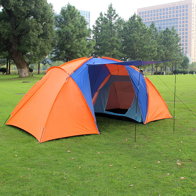 2015 New Style High Quality Big Tourist Tent Double Layer