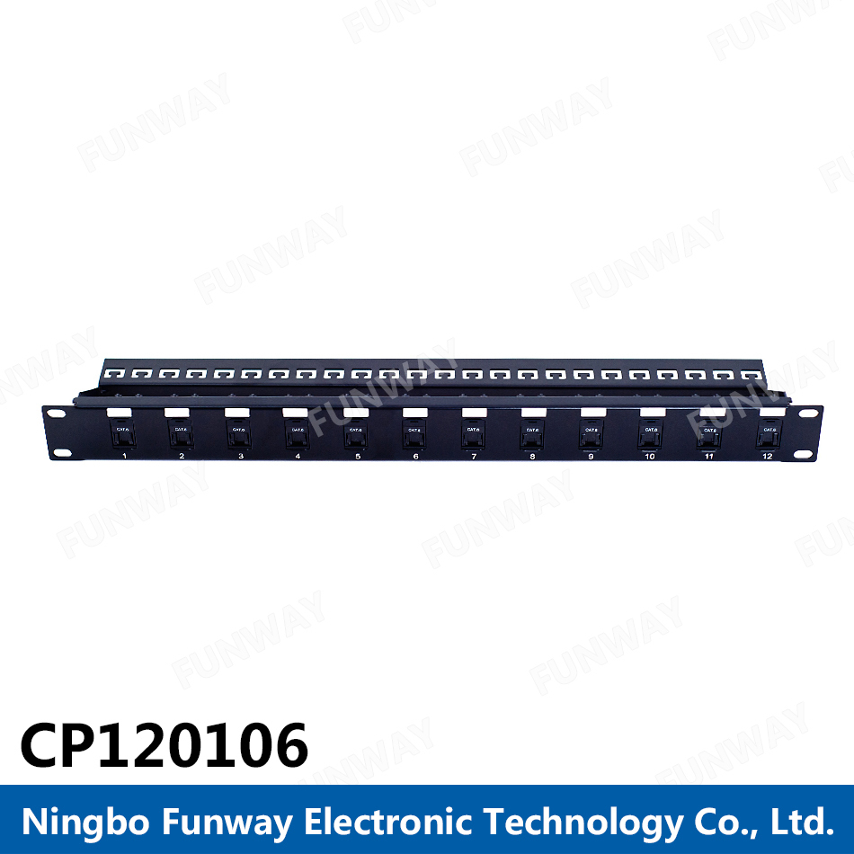 Hotsale 19 inch rack mount patch panel for sale