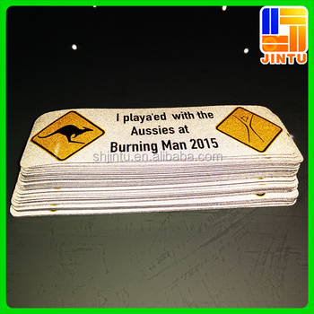 Die cut reflective sticker sheetsreflective sticker printing