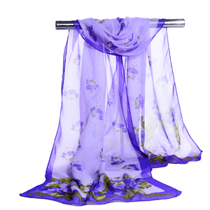 Yiwu Factory Summer Hot Sell Wholesale Cheap Silk Chiffon long Scarf