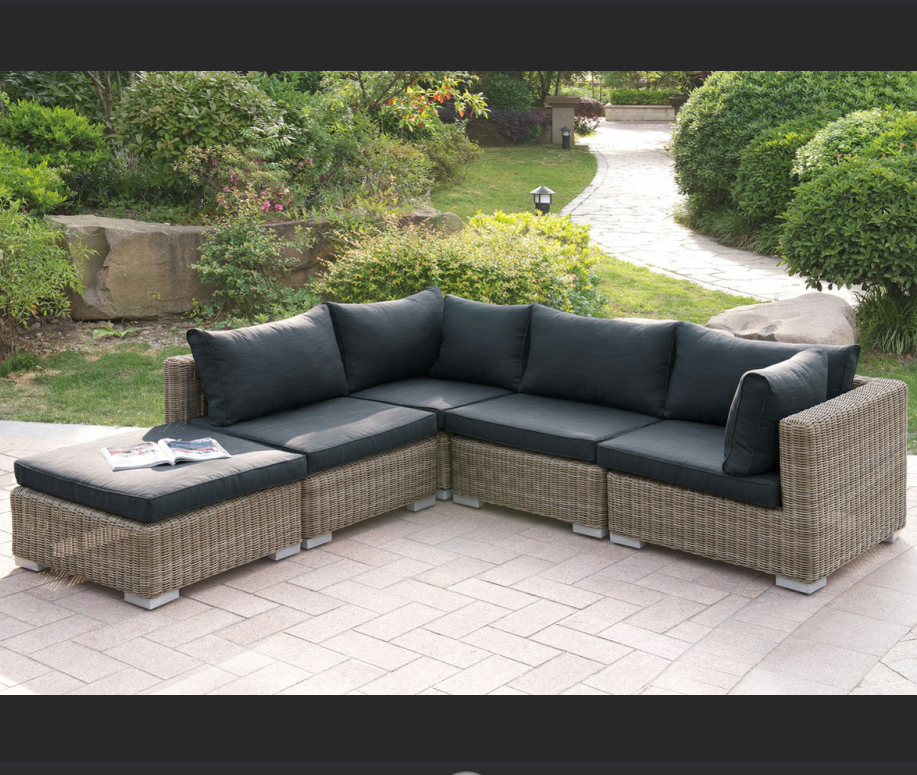 Outdoor Wicker Sectional Sofa Furniture