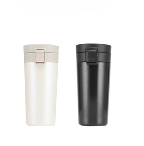 Travel Stainless Steel Vacuum Flask 350ml Car Thermos Cup Coffee Tea