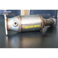 KET honeycomb ceramic euro 4 aftermarket exhausts direct fit three way catalytic converter