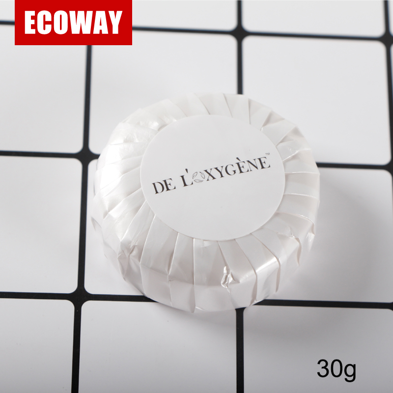 30g hotel round soap disposable bath toilet spa soap
