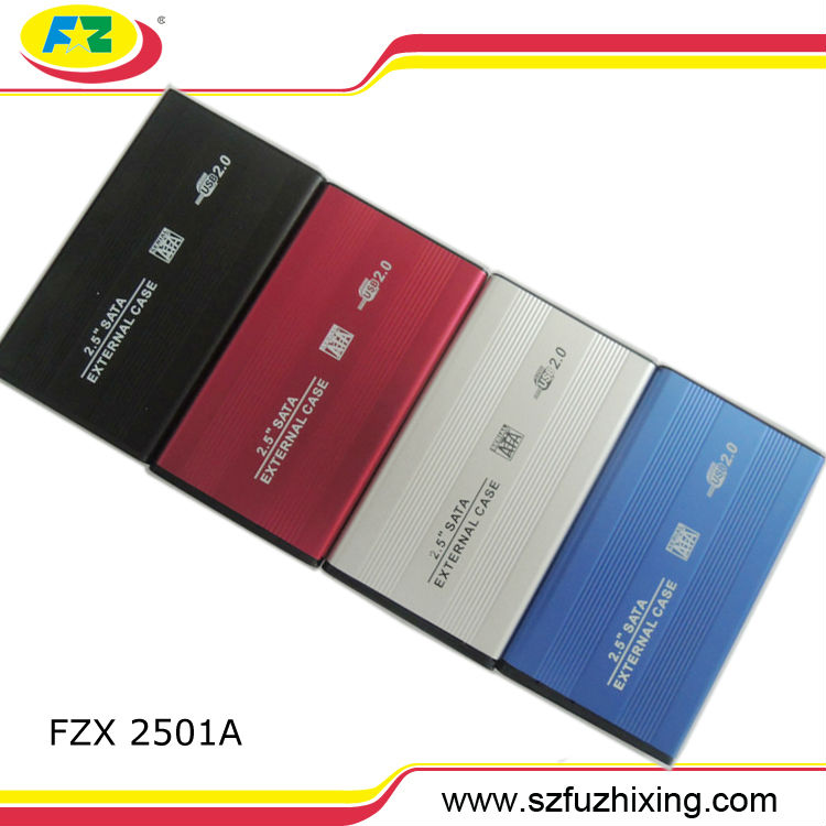 USB 2.0 2.5 Inch SATA Enclosure External Case For Notebook Laptop Hard Disk HDD