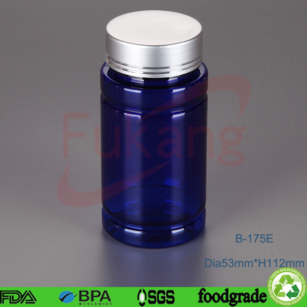 175ml Different volume pharmaceutical PET plastic bottles for vitamin, pill and softgal