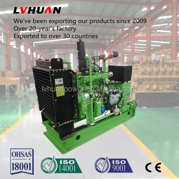 high quality stirling biogas generator/biogas power electric engine