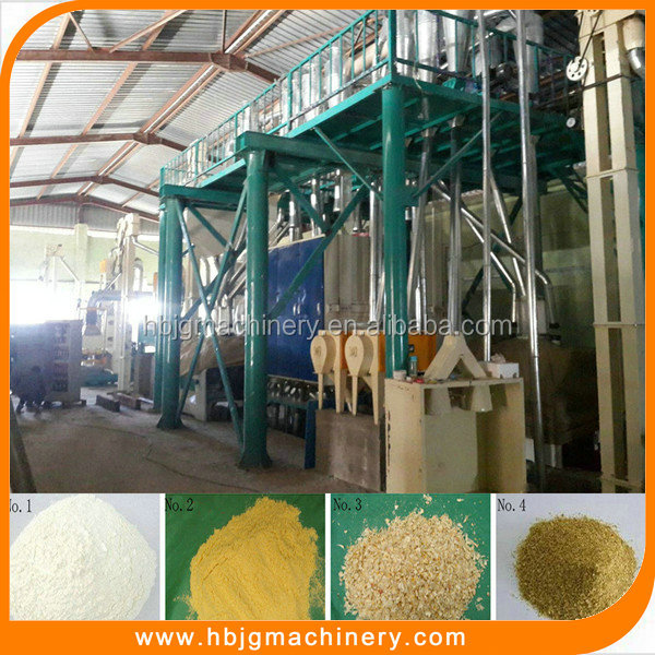 2016 hot selling electric corn mill for corn grit and corn flour flour mill