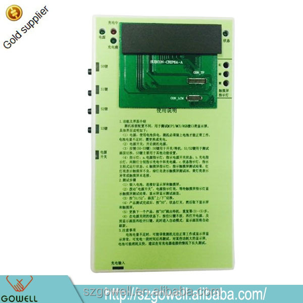 Factory supply very low price lcd tester Test LCD Touch Screen Digitizer Display Tester for Samsung S4 S3