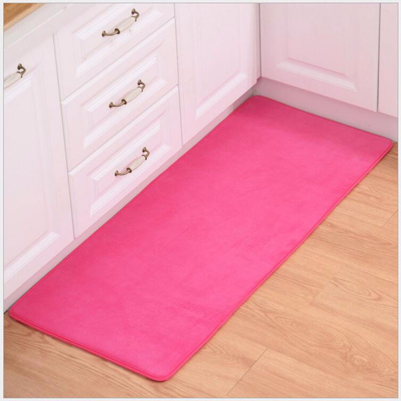 2PCS Set Carpet Coral Velvet Pad Carpet Floor Mat Carpet And Rug For  Bathroom Kitchen Non-slip Mat Door Carpet Mat Alfombras - us230 0a31f87965