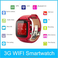 2015 top lastest S8 3G GPS 240x240 touch screen china smart watch phone hot wholesale