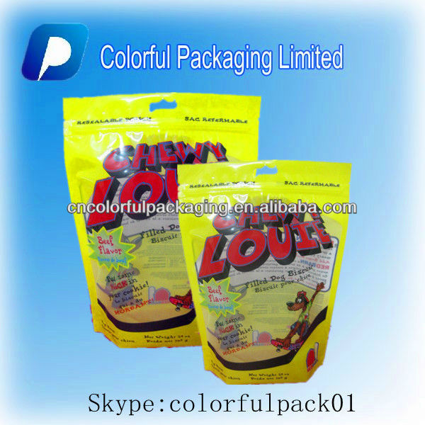 Biscuit Plastic PET/PE food bags for Cookies or others,Customized material printing