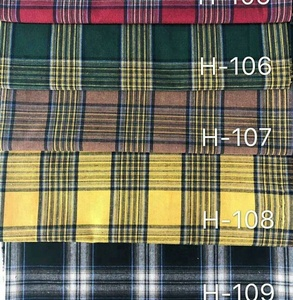 Classical plaid checked fabric for school uniform fabric / Dyed Gingham Check Fabric