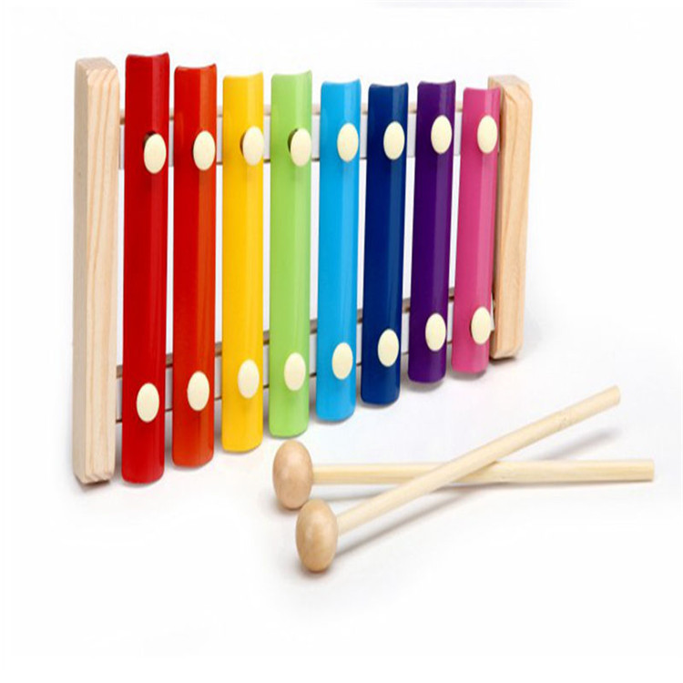 Most popular and hot selling kids musical instrument educational wooden xylophone toy