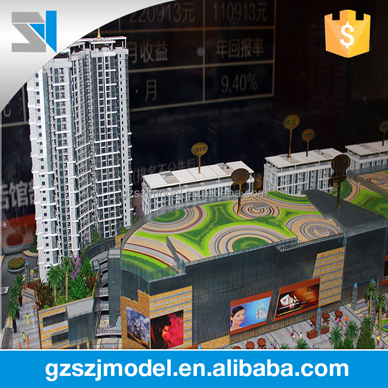 Business center & Commercial plaza design architecture site models