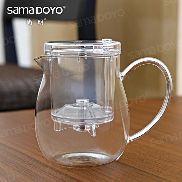 samadoyo pyrex glas tee t pfe teetassen mit ei sieb filter und dr cken sie die taste kaffee und. Black Bedroom Furniture Sets. Home Design Ideas