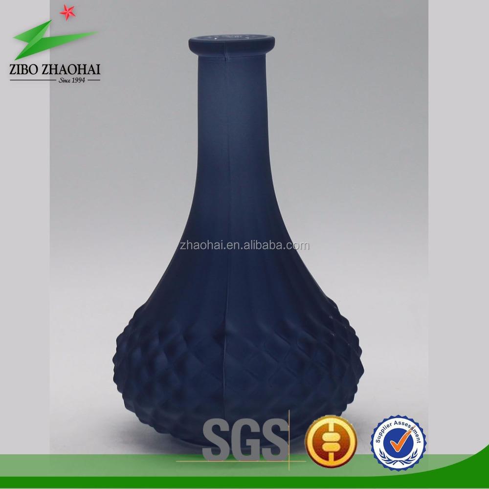 Dark Blue Gl Vase - Home Decorating Ideas & Interior Design Zibo Gl Vase Html on