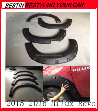HOT NEW Durable flexible matte black smooth TOYOTA HILUX REVO Fender Flares