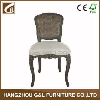 French wooden rattan back louis chair/french rattan dining chairs  sc 1 st  Alibaba & French Wooden Rattan Back Louis Chair/french Rattan Dining Chairs ...