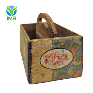 FSC certification wooden wine crates for sale large size storage box for wine YM07109