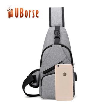 Wholesale oxford fabric chest bag crossbody sling bag waterproof cross body  shoulder strap bag for men 7bb643bce2455