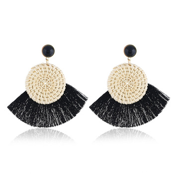 weave earrings boho tassel womens earrings