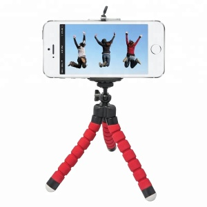 Hot Sale Sponge Small Size Octopus Tripod for Mobile Phone and for Gopro Hero 6 5 4s 4 3 2 1