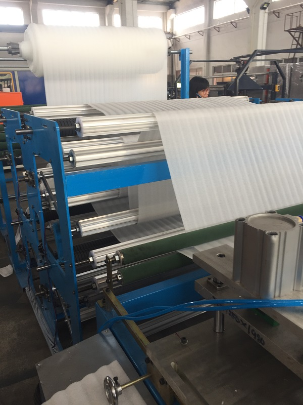 0.5mm epe foam sheet auto-cutting machine