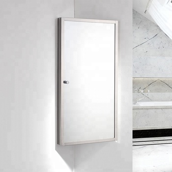 Medicine Cabinet Kitchen And Bathroom Wall Corner Mirror Cabinet For Storage Buy Kitchen Wall Hanging Cabinet Wall Mounted Corner Bathroom Cabinet Medicine Cabinet Product On Alibaba Com
