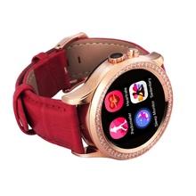 BTL NO.1 D2 MTK2502 Capacitive Touch Screen Bluetooth 4.0 Waterproof Women Smart Watch Support Health Monitoring