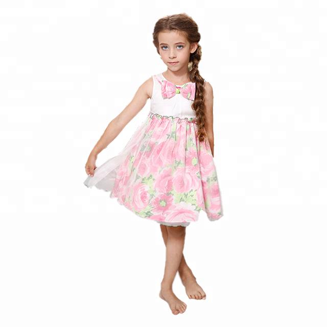 e531d23f3 ملابس اطفال بالجملة، تايلاند الملابس الصيفية للأطفال، أزياء الفتيات اللباس  10 سنوات