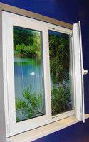 European Style 60mm Casement Vinyl Windows