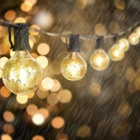 Clear String Bulb Light Wholesale 50Ft G40 Globe String Lights With 50 Clear Bulbs Perfect For Xmas Lights Outdoor