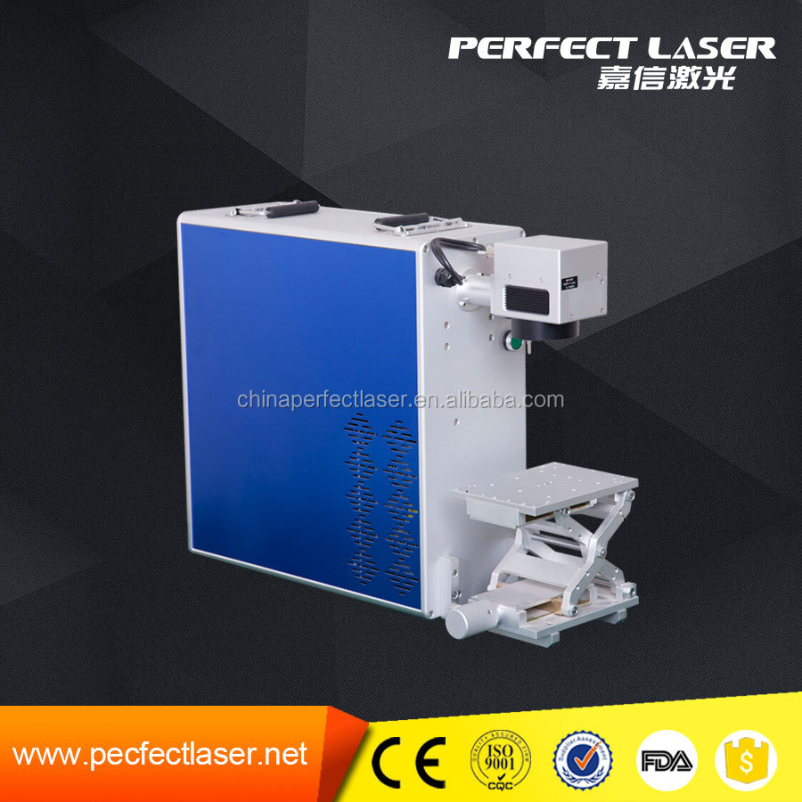 Hot sale 10W 20W 30W PEDB-400A fiber laser marking machine for global market