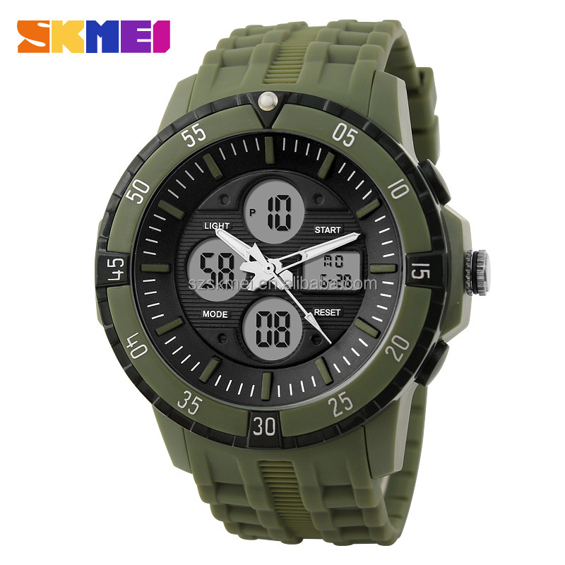 unique outer ring compass device stylish waterproof watches