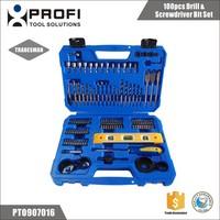 100pcs Woodworking And HSS Straight Shank Twist Drill Bit Kits