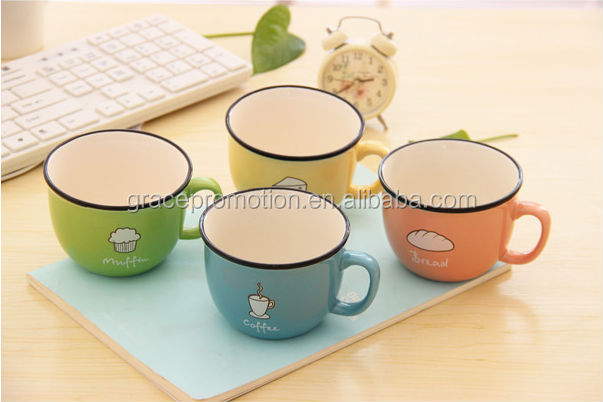 New Japan style small personality couple breakfast <strong>cup</strong> for drinking