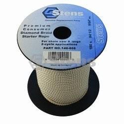 Silver Streak # 145608 100'diamond Braid Starter Rope for #4-1/2#4-1/2